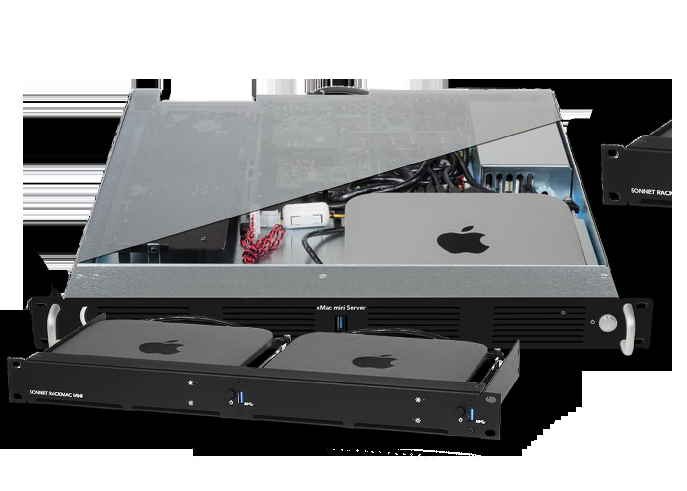Solutions de montage Mac mini